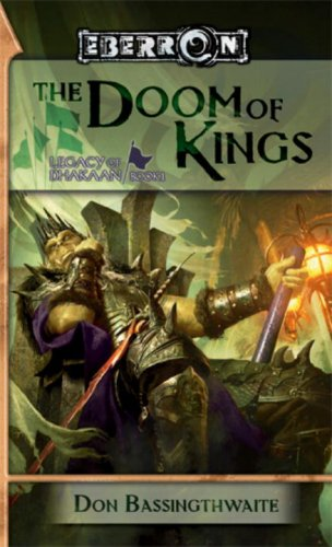 9780786949182: The Doom of Kings: Legacy of Dhakaan, Book 1