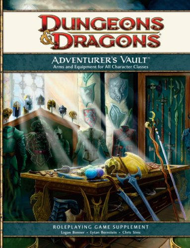 9780786949786: Adventurer's Vault: A Guide to Weapons, Equipment, and Treasure for Your Character (D&d Supplement) (Dungeons & Dragons)