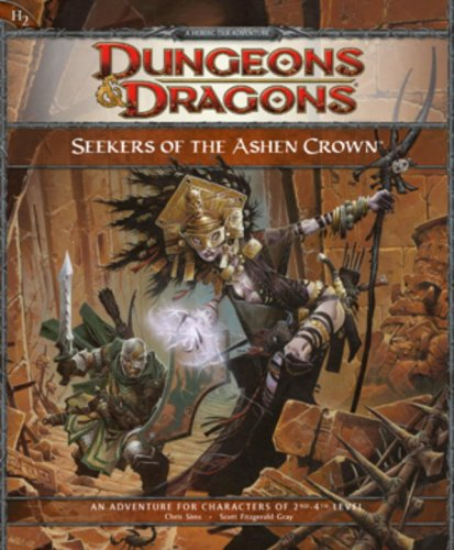 9780786950171: Seekers of the Ashen Crown: A 4th Edition D&D Adventure for Eberron