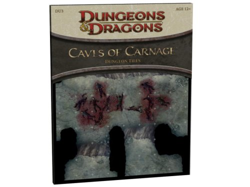 9780786950195: Caves of Carnage: Dungeon Tiles (Dungeons & Dragons)