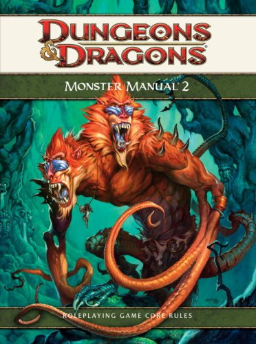 Monster Manual 2: A 4th Edition D&D Core Rulebook (D&D Supplement) (078695101X) by Chris Sims; Eytan Bernstein; Greg Bilsland; Jesse Decker; N. Eric Heath; Owen K.C. Stephens; Peter Lee; Rob Heinsoo