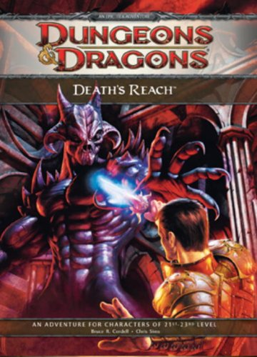 Death's Reach: Adventure E1 for 4th Edition D&D (D&D Adventure) (0786951028) by Bruce R. Cordell; Chris Sims