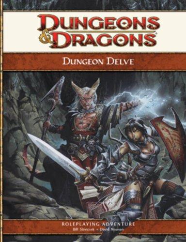 Dungeon Delve: A 4th Edition D&D Supplement (D&D Adventure): David Noonan