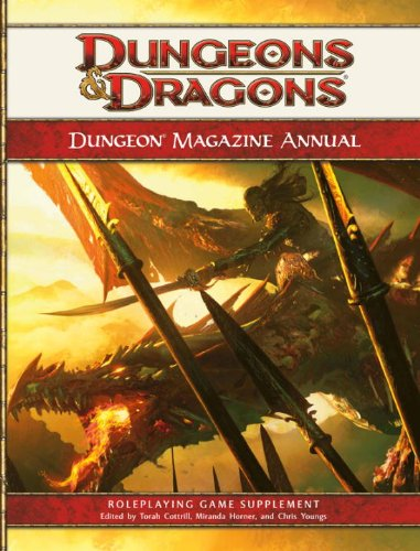 9780786952007: Dungeon Magazine Annual, Vol. 1: A 4th Edition D&D Compilation (D&D Supplement)