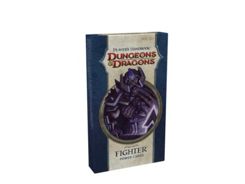 Player's Handbook - Fighter Power Cards: A 4th Edition D&D Accessory