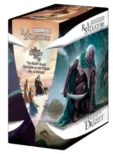 9780786952328: Forgotten Realms: the Legend of Drizzt Set 4: The Silent Blade/The Spine of the World/Sea of Swords