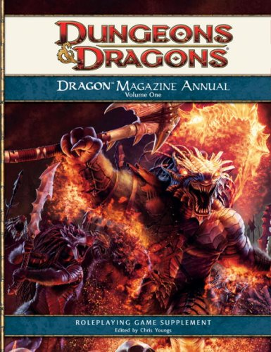Dragon Magazine Annual, Volume 1: A 4th Edition D&D Compilation: Youngs, Chris [Editor]