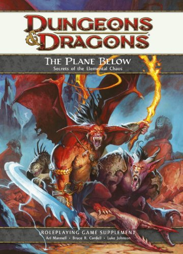 9780786952496: The Plane Below: Secrets of the Elemental Chaos (Dungeons & Dragons)