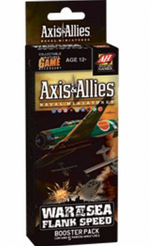 9780786952557: War at Sea: Flank Speed Booster Pack Game (Axis & Allies Miniatures)