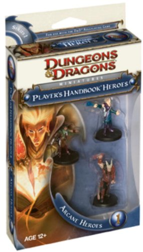 "9780786952779: Arcane Heroes 1 (D&d Miniatures Accessories) (""Dungeons & Dragons"" Miniatures)"