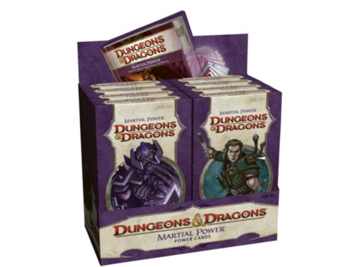 9780786952830: Martial Power Cards Assorted Decks Display Dungeons and Dragons Role Playing Game RPG