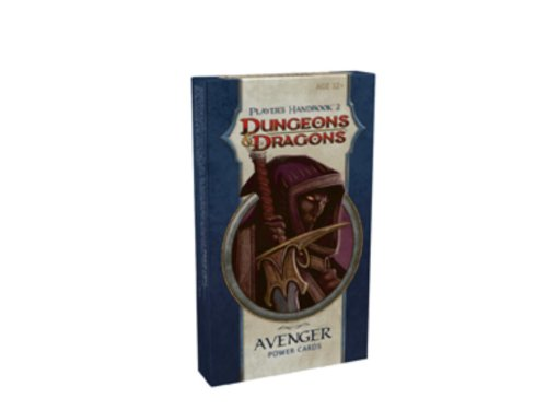 9780786952908: Player's Handbook 2 - Avenger Power Cards: A 4th Edition D&d Accessory (Dungeons & Dragons 4th Edition)