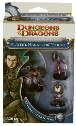 Player's Handbook Heroes: Series 2 - Martial Heroes 4