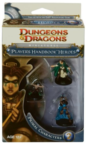 9780786952977: Player's Handbook Heroes: Series 2 - Primal Characters 2: A D&D Miniatures Accessory (D&D Miniatures Product)