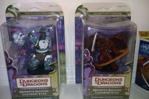 Monster Manual: Legendary Evils: A D&D Miniatures Booster Expansion (D&D Miniatures Product...