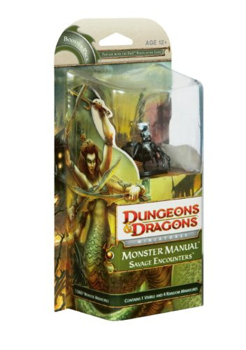 "9780786953042: Monster Manual: Savage Encounters (""Dungeons & Dragons"" Miniatures Expansion)"
