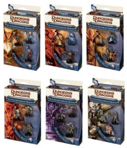 9780786953110: Player's Handbook Heroes: Series 1 Assortment: A D&D Roleplaying Game Accessory (D&d Miniatures Product)