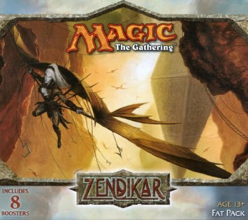 9780786953455: Magic The Gathering: Zendikar Fat Pack