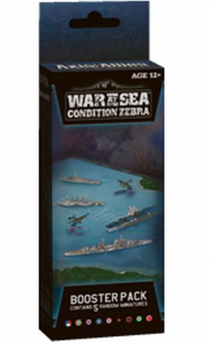 9780786953844: War at Sea: Condition Zebra: An Axis & Allies Naval Miniatures Booster Expansion (Axis & Allies Miniatures)
