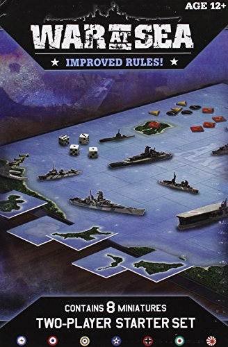 9780786953851: War at Sea Starter: An Axis & Allies Naval Miniatures Game (Axis & Allies Miniatures)