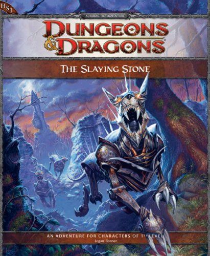 9780786953882: The Slaying Stone: Adventure HS1 for 4th Edition D&D