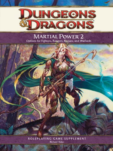 9780786953899: Martial Power 2: A 4th Edition D&D Supplement (Dungeons & Dragons)