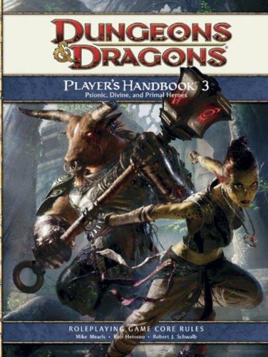9780786953905: Player's Handbook 3: A 4th Edition D&D Core Rulebook