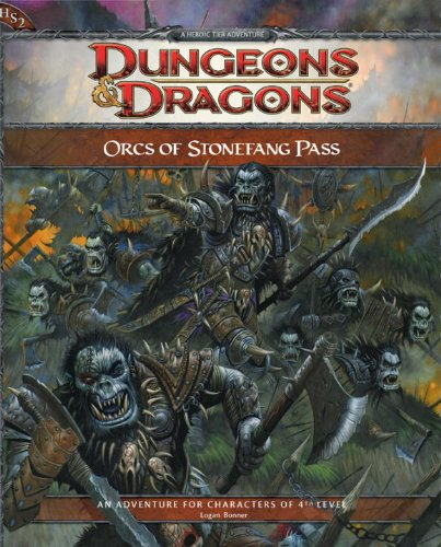 9780786953912: Orcs of Stonefang Pass: Adventure HS2 for 4th Edition D&D