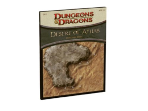 9780786953981: Desert of Athas - Dungeon Tiles: A 4th Edition D&D Accessory