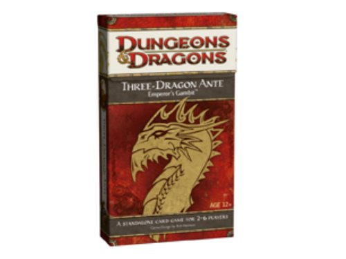 9780786954780: Three-Dragon Ante: Emporer's Gambit: A D&D Game (Dungeons & Dragons)