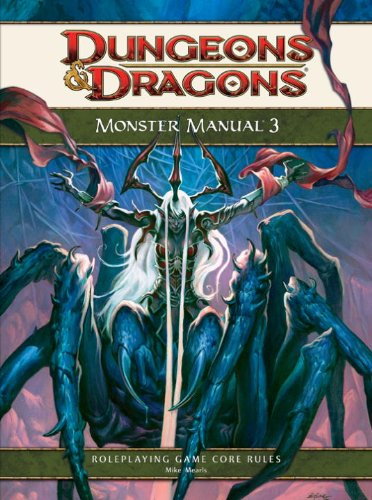 9780786954902: Monster Manual 3: A 4th Edition D&D Core Rulebook (Dungeons & Dragons Core Rulebooks)
