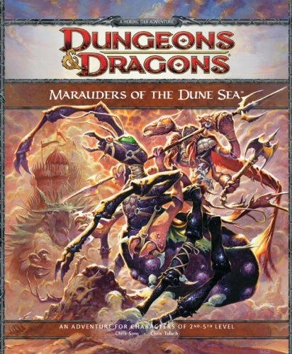 9780786954957: Marauders of the Dune Sea (Dungeons & Dragons)
