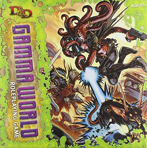 9780786955084: D&D Gamma World Roleplaying Game: A D&D Genre Setting (Dungeons & Dragons)