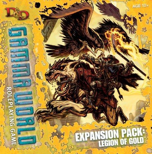 9780786955107: D&D Gamma World Expansion: Legion of Gold: A D&D Genre Supplement (4th Edition D&d) (Dungeons & Dragons)