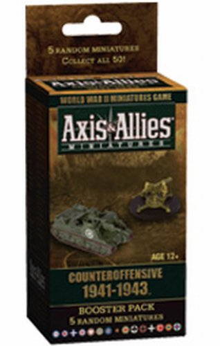 9780786955510: Axis & Allies Miniatures: Counteroffensive 1941-1943: Booster Pack, 5 Random Miniatures
