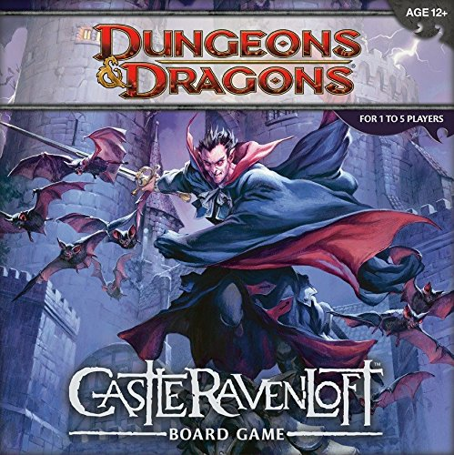9780786955572: Dungeons & Dragons: Castle RavenLoft Board Game [With 20-Sided Die and 200 Encounter, Monster, and Treasure Cards and Tiles, Markers, Tokens and Ru