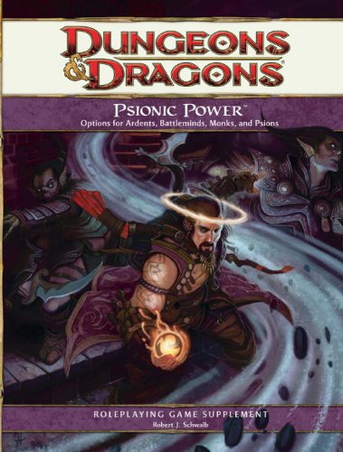 Psionic Power: A 4th Edition D&D Supplement (9780786955602) by Mike Mearls