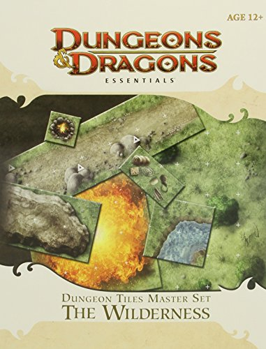 9780786956128: Dungeon Tiles Master Set - The Wilderness: Essential Dungeons & Dragons Tiles
