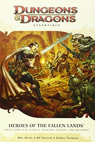 9780786956203: Heroes of the Fallen Lands: An Essential Dungeons & Dragons Supplement (4th Edition D&D)