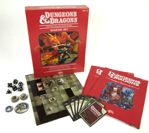 9780786956296: Dungeons & Dragons Fantasy Roleplaying Game: An Essential D&d Starter [With Dice and Cards and Map]