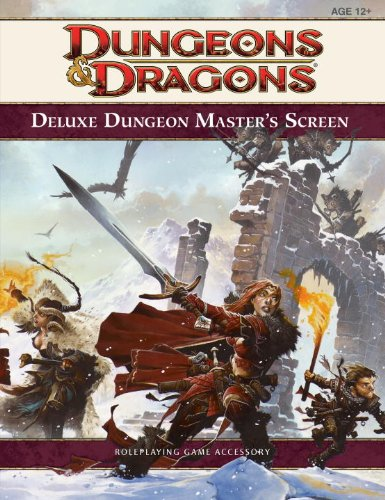"""9780786957439: Deluxe Dungeon Master's Screen (""""Dungeons & Dragons"""" Accessory)"""