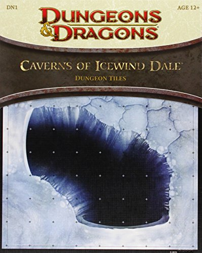 9780786957460: Caverns of Icewind Dale - Dungeon Tiles: A 4th Edition D&D Accessory