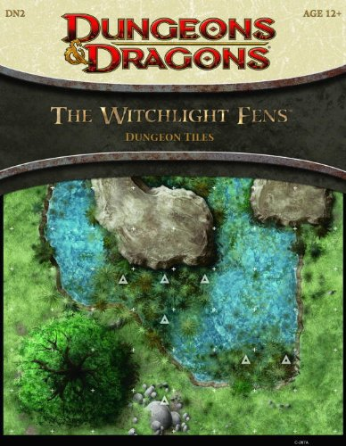 9780786958009: The Witchlight Fens Dungeon Tiles