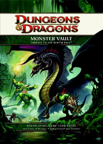 9780786958382: Monster Vault: Threats to the Nentir Vale: Roleplaying Game Supplement [With Tokens, Die-Cut Sheets of Card Stock Monsters and Paperback Book] (Dungeons & Dragons)