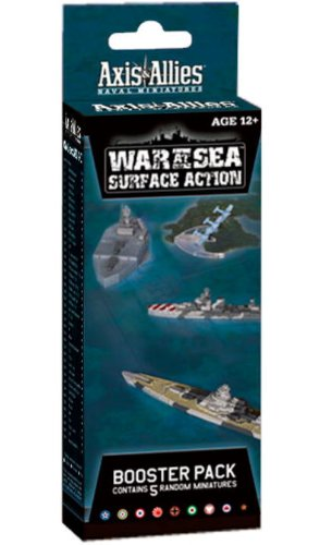 9780786958542: War at Sea: Surface Action: An Axis & Allies Naval Miniatures Booster Expansion (Axis & Allies Miniatures)