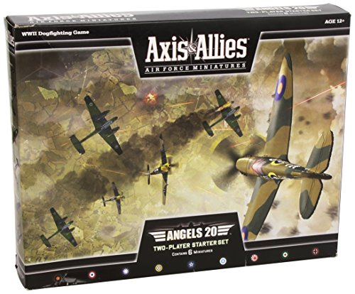 9780786958658: Axis & Allies Air Force Miniatures: Angels Twenty Starter: An Axis & Allies Miniatures Game