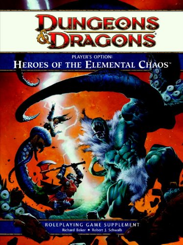 9780786959815: Player's Option: Heroes of the Elemental Chaos: A 4th Edition Dungeons & Dragons Rulebook