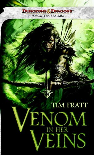 9780786959846: Venom in Her Veins: A Forgotten Realms Novel