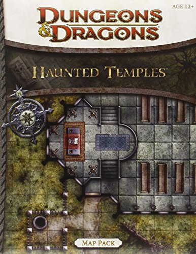 Haunted Temples Map Pack: A 4th Edition Dungeons & Dragons Accessory: Wizards RPG Team