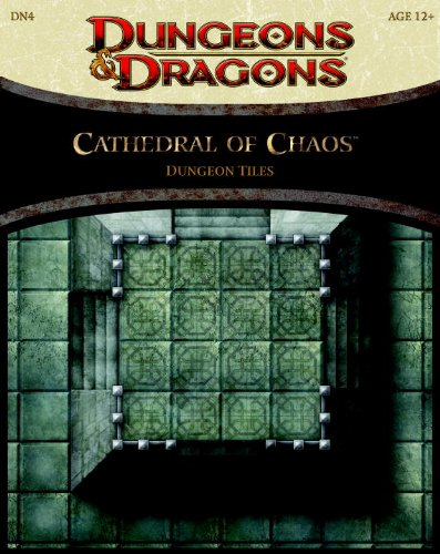 9780786959907: Cathedral of Chaos - Dungeon Tiles: A 4th Edition Dungeons & Dragons Accessory
